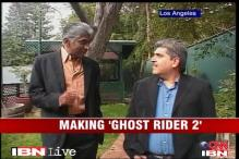 Ashok Amritraj is back with 'Ghost Rider'