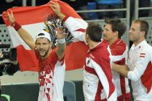 Davis Cup: Austria beat Russia, Serbia progress