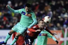 Barcelona suffer another away loss at Osasuna