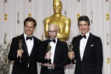 Oscars: Best adapted screenplay backstage speech
