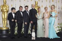Oscars: Backstage interview for Best Picture