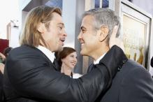 Clooney, Pitt and Dujardin clash for Oscars