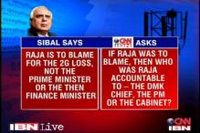2G verdict: Kapil Sibal says; CNN-IBN asks