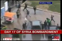 Syria violence: Homs continues to be shelled