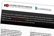 EFF seeks to save data on Megaupload servers