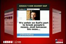 Twitter abuzz over Saif's late night brawl