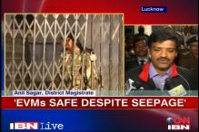 UP Polls: EVMs damaged in govt strong house