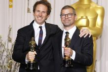 Oscars: Onstage speech for Film Editing