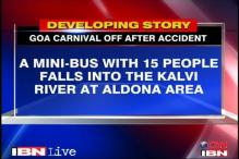 Goa Carnival off after school bus accident