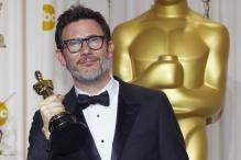 Oscars: Backstage interview of Hazanavicius