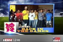 Indian hockey back in Olympics, the team parties
