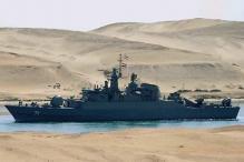 Iranian warships enter Mediterranean Sea