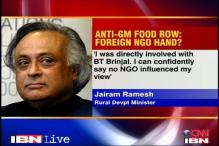 Not influenced by NGOs on GM foods: Jairam