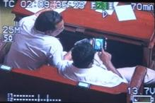 K'taka ministers caught watching obscene video