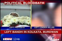 WB killings: CPM bandh partially successful