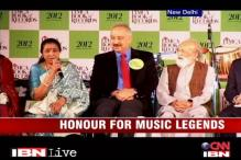 Indian music legends honoured