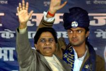 UP: Mayawati blames Centre for lack of funds