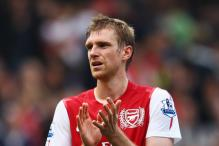 Arsenal defender Mertesacker out for 'long term'