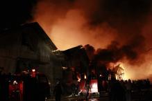 Fire near BIA Cargo Terminal