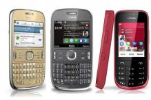 Nokia launches three new Asha phones