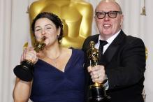 Oscars: Backstage interview for Short Film