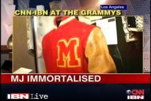 Watch: MJ memorabilia at the Grammy museum