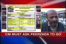 J&K examgate: Oppn demand Peerzada's removal