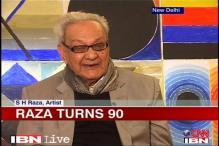 Modern artist SH Raza turns 90 today