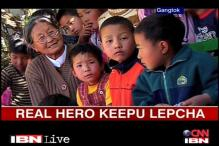 Real Hero Keepu educates Lepcha community