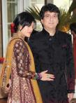 Bollywood stars at Riteish and Genelia's wedding
