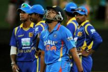 Rohit Sharma is run out