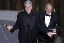 Oscars: Make up backstage interview