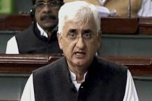 Khurshid's sub-quota promise his personal view: Cong