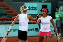 Sania-Vesnina advance to Dubai final