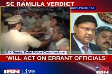 Ramlila swoop: Will act on errant officials, say police