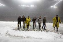 Heavy snow affects Serie A weekend schedule