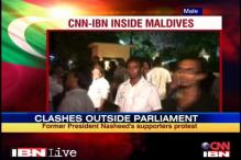 Maldives: Nasheed supporters clash with police