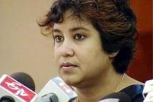 BJP, Cong in war of words over Taslima's book