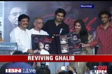 Gulzar launches 'Tera Bayaan Ghalib' album
