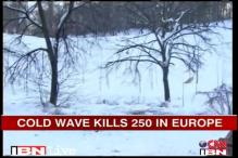 Europe continues to reel under cold wave, 250 dead