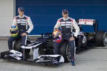 Maldonado leads F1 testing for Williams