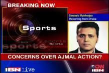 Team India unhappy with Ajmal's action