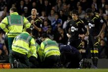 Muamba 'critically ill' after collapsing in game