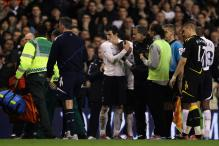 Muamba wakes up and asks 'did we lose?'