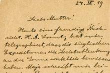 Einstein's love letters, documents go online
