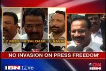 No invasion on press freedom: Sadananda Gowda