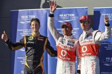 Hamilton leads McLaren 1-2 in Aus qualifying