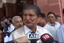 Uttarakhand crisis over from my end: Harish Rawat