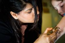 Pics: Henna artist Pavan Ahluwalia's world record attempt