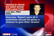Give ex-ISRO scientists a chance: Law Ministry